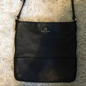 Kate Spade Black Cora Leather Crossbody